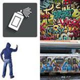 8 Buchstaben Lösung Graffiti